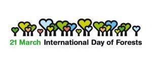 Logo zum Internationalen Tag des Waldes