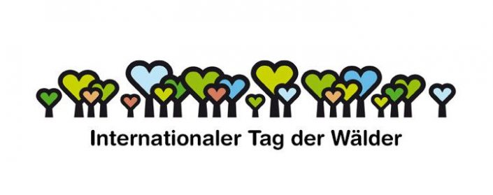 Logo zum Internationalen Tag des Waldes