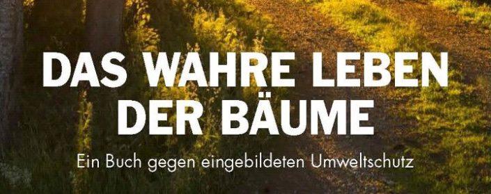 """Titel des Buches """"Das wahre Leben der Bäume"""""""