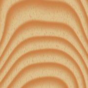 Kante eines Holzstückes mit querverlaufenden Linien