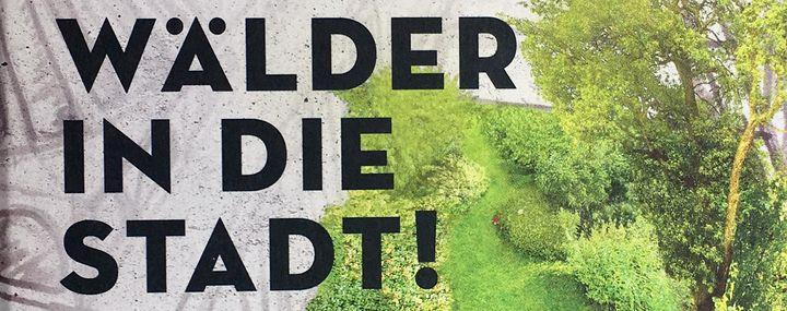 """Buchcover: Conrad Amber - """"Bäume auf die Dächer, Wälder in die Stadt!"""""""