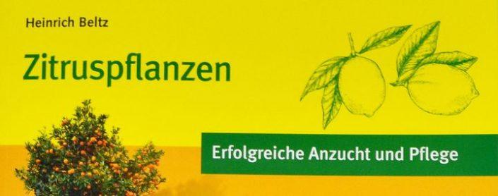 Buchcover: Zitruspflanzen – Erfolgreiche Anzucht und Pflege von Heinrich Beltz