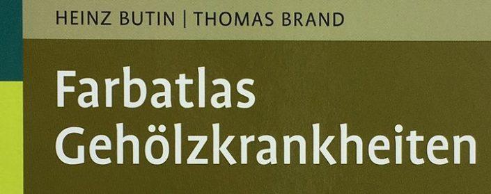 Cover des Buches Farbatlas Gehölzkrankheiten