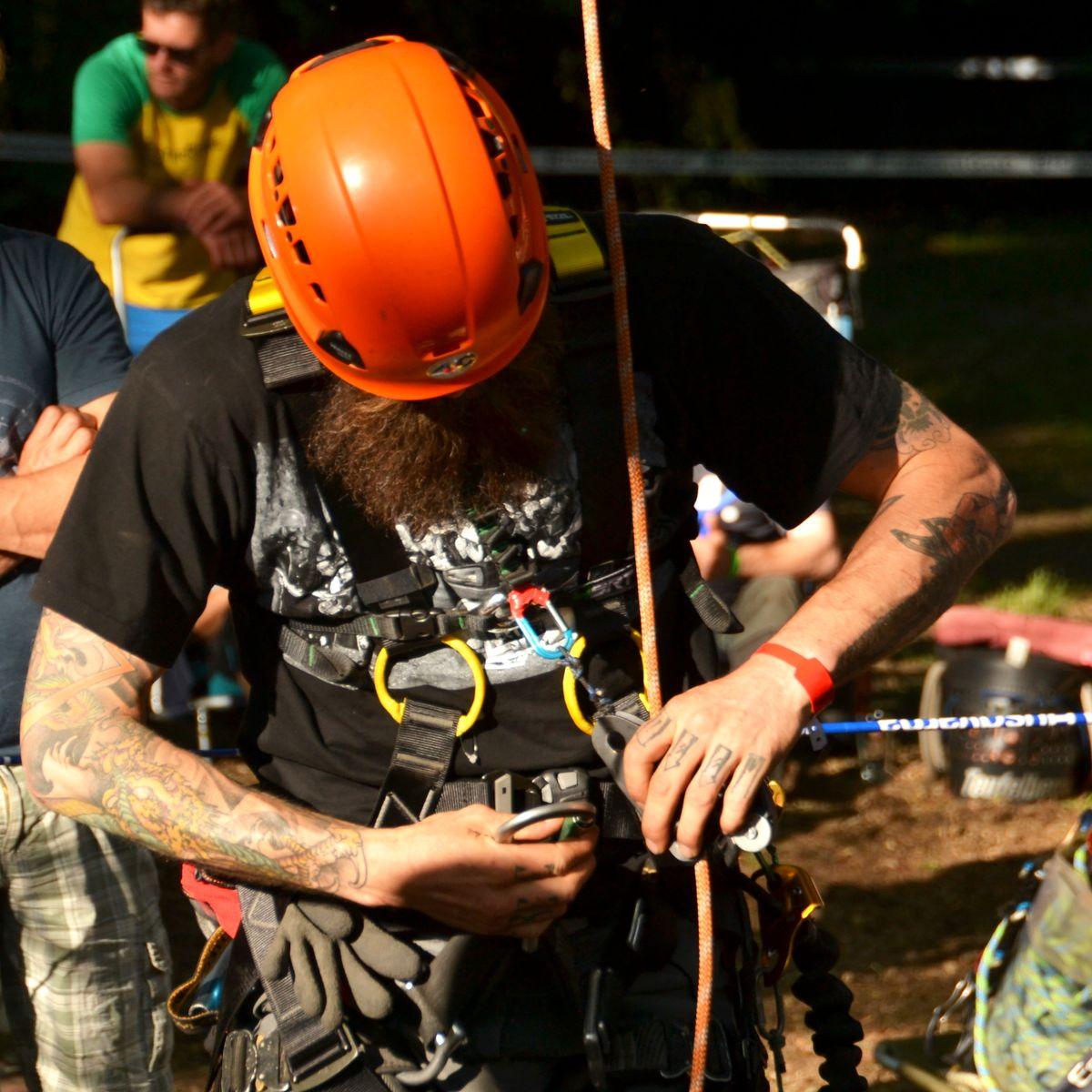 Baumkletter-Meisterschaften: Disziplin Ascent-Event