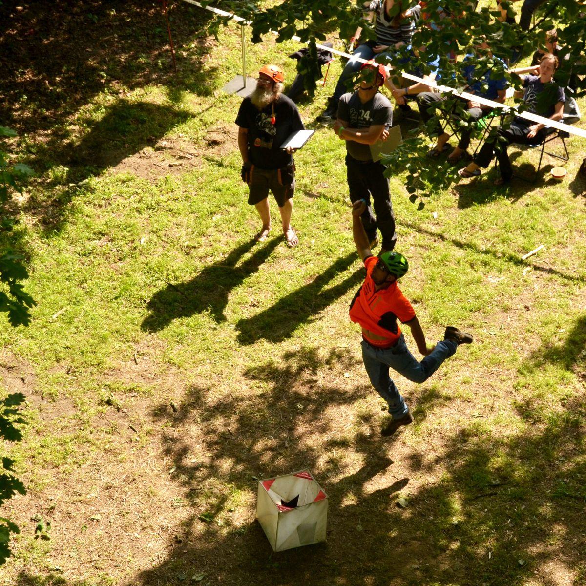 Baumkletter-Meisterschaften: Master's Challenge