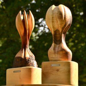 Pokale aus Holz