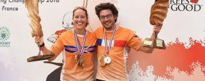 Sieger und Siegerin der Europäischen Baumklettermeisterschafte 2018