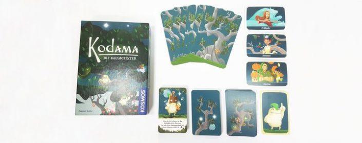 Kartenspiel Kodama auf einem Tisch