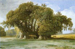 Gemälde eines Baumes
