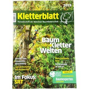 Deckblatt des Kletterblattes 2019