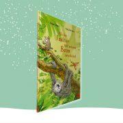 """Cover des Kinderbuchs """"Als das Faultier mit seinem Baum verschwand"""""""