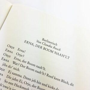 R. Gernhardt, B. Eilert, P. Knorr: Erna, der Baum nadelt
