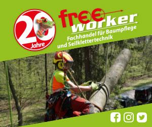 Freeworker - Fachhandel für Baumpflege und Seilklettertechnik