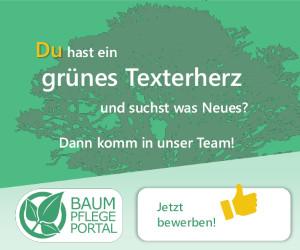 Baumpflegeportal Komm ins Team Job Angebot