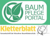 Logo Baumpflegeportal und Kletterblatt